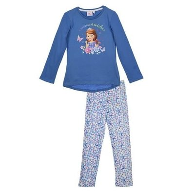 Sofia the First kinderpyjama, blauw, div. maten