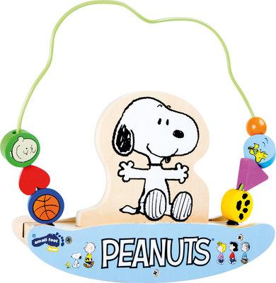 Snoopy houten kralenframe
