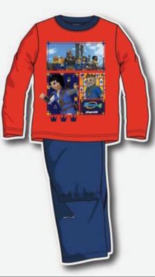 Playmobil kinder pyjama, oranje / blauw