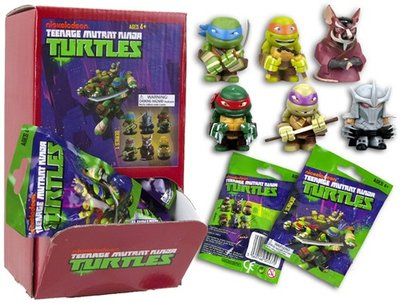 Bindbag Teenage Mutant Ninja turtles met verzamelfiguurtje