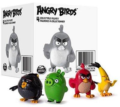 Angry Birds verzamelfiguren, 4 st.