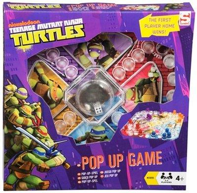 Teenage Muntant Ninja Turtles Pop-UP spel !