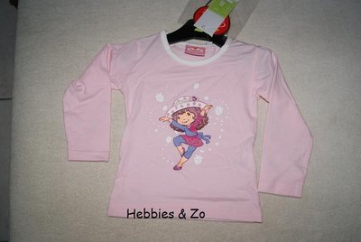 Longsleeve Strawberry Shortcake lichtroze MT 102