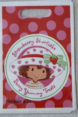 Uitdeelzakjes / party bags Strawberry Shortcake