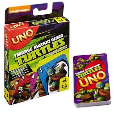 Teenage Mutant Ninja Turtles spel Uno