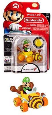 Super Mario figuurtje Luigi coin racer