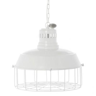 Riverdale hanglamp Milton, wit 39 cm.