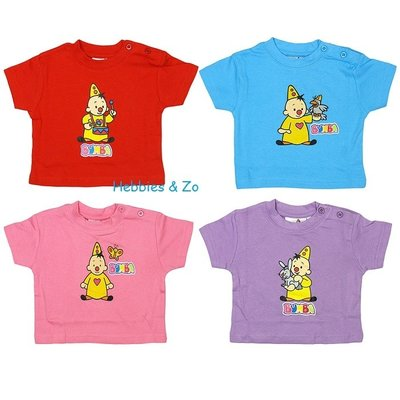 Bumba baby shirt paars, div. maten
