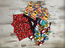 Set van 3 DICE Alien / Cartoon boxershorts jongens