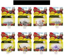 Set van 8 verschillende Dinotrux figuurtjes