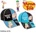 Phineas-&-Ferb-cap-zwart-mt-52