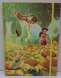 Fairies-Tinkerbell-plak--schets--notitieboek-A4