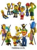 Setje-van-7-verschillende-Simpsons