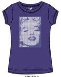 Marilyn-Monroe-shirt-paars