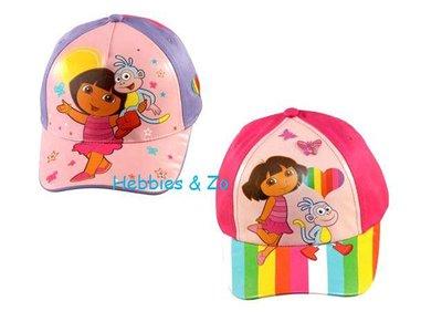 Dora cap / regenboog maat 54