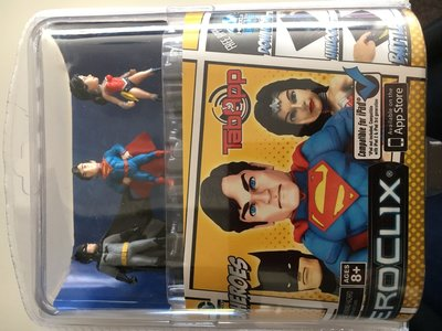 TabApp Heroclix met o.a. Batman en Superman