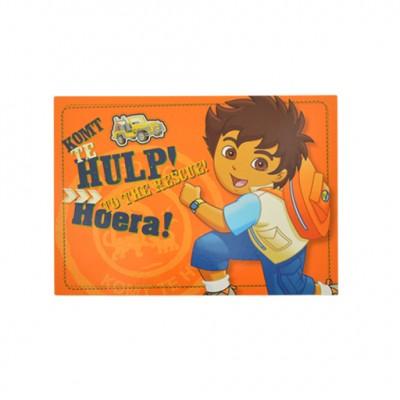 Diego prentkaart ; Hoera
