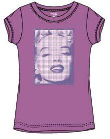 Marilyn Monroe shirt roze