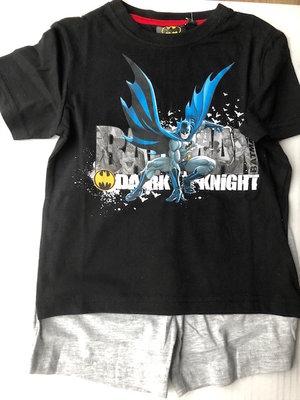 Batman shortama zwart / grijs maat 98