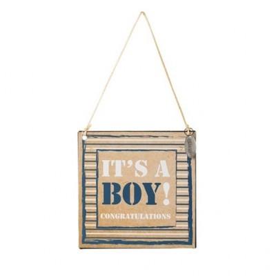 Riverdale tekstbord ; it's a boy !