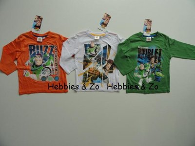 Toy Story longsleeves wit