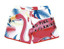 "Dames zwemshort "" As pink as a flamingo """