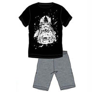 Star Wars heren shortama, Stormtrooper, zwart/grijs