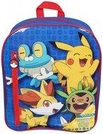 Pokemon rugtas met stationary set, kleine beschadiging aan voorkant